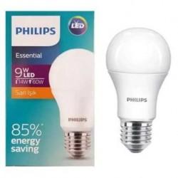 Philips LED Ampul 9W (60W) SARI RENK (Gün IŞIĞI) E27 Duylu 806 Lm