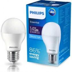 Philips Essential 14 W LED Ampul E-27 Beyaz Işık