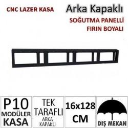 16x128cm CNC Lazer Kesim Kapaklı Kasa