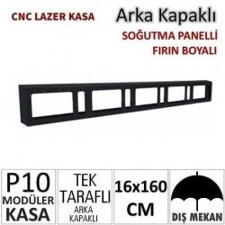 16x160cm CNC Lazer Kesim Kapaklı Kasa