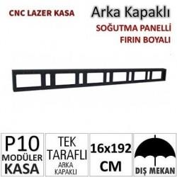 16x192cm CNC Lazer Kesim Kapaklı Kasa