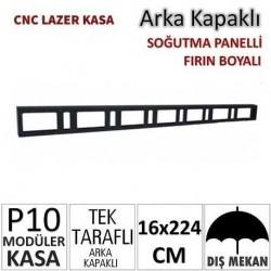 16x224cm CNC Lazer Kesim Kapaklı Kasa