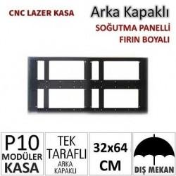 32x64cm CNC Lazer Kesim Kapaklı Kasa