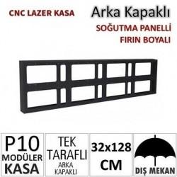 32x128cm CNC Lazer Kesim Kapaklı Kasa