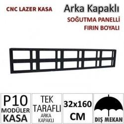 32x160cm CNC Lazer Kesim Kapaklı Kasa