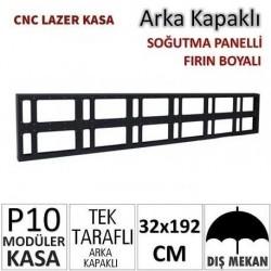 32x192cm CNC Lazer Kesim Kapaklı Kasa