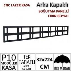 32x224cm CNC Lazer Kesim Kapaklı Kasa