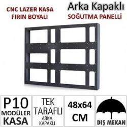 48x64cm CNC Lazer Kesim Kapaklı Kasa