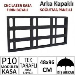 48x96cm CNC Lazer Kesim Kapaklı Kasa