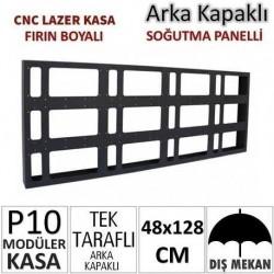 48x128cm CNC Lazer Kesim Kapaklı Kasa