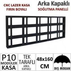 48x160cm CNC Lazer Kesim Kapaklı Kasa