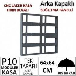 64x64cm CNC Lazer Kesim Kapaklı Kasa