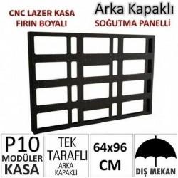 64x96cm CNC Lazer Kesim Kapaklı Kasa