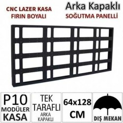 64x128cm CNC Lazer Kesim Kapaklı Kasa