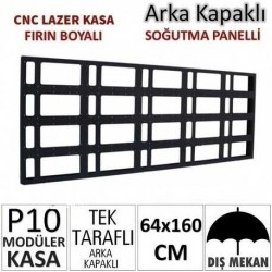 64x160cm CNC Lazer Kesim Kapaklı Kasa