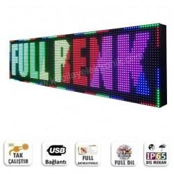 128x64 Full Renk Kayan Yazı