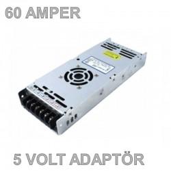 5V 60A Slim Metal Kasa Adaptör