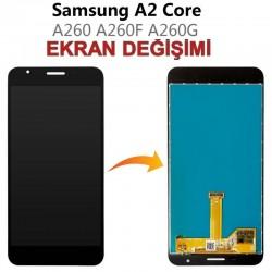 Samsung Galaxy A2 Core A260 Ekran değişimi