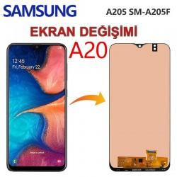 Samsung Galaxy A20 A205 Ekran değişimi