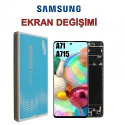 Samsung Galaxy A71 A715 Ekran değişimi
