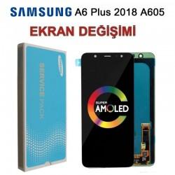 Samsung Galaxy A6plus A605 Ekran değişimi