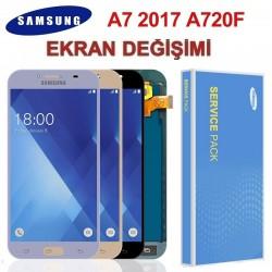 Samsung Galaxy A7 A720 Ekran değişimi