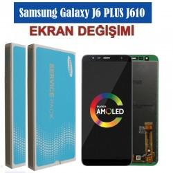 Samsung Galaxy J6plus J610 Ekran değişimi