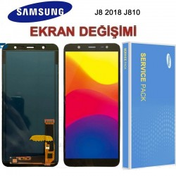 Samsung Galaxy J8 J810 Ekran değişimi
