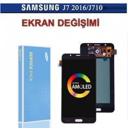 Samsung A7 2017 Ekran Değişimi (A Kalite)