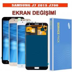 Samsung Galaxy J7 J700 Ekran değişimi