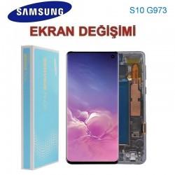 Samsung Galaxy S10 G973 Ekran değişimi