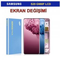 Samsung Galaxy S20 G980 Ekran değişimi