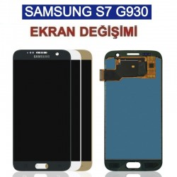 Samsung Galaxy S7 G930 Ekran değişimi