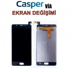 Casper Via P1 Ekran değişimi