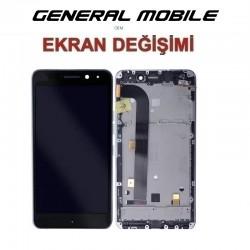 General Mobile GM5 PLUS Ekran değişimi