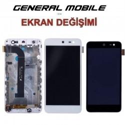 General Mobile 4G Ekran değişimi