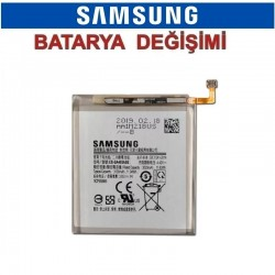 Samsung Galaxy A40 A405 Batarya değişimi