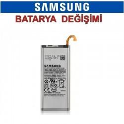 Samsung Galaxy A6 Plus A605 Batarya değişimi