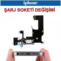 İPhone 5 - 5S - 5C Şarj Soketi değişimi